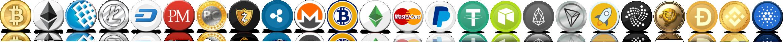 خرید بیت کوین اتریوم لایت کوین ریپل دوج کوین وبمانی پرفکت مانی تتر و دیگر ارزهای دیجیتال